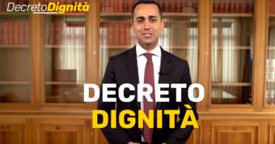 Decreto Dignità M5S Di Maio