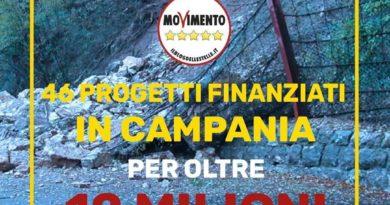 Dissesto idrogeologico 46 progetti finanziati in Campania