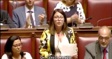 Teresa Manzo M5S Intervento in Aula Milleproroghe