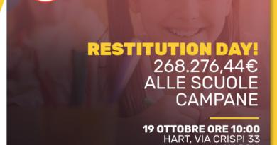 Restitution Day Campania Facciamo Scuola