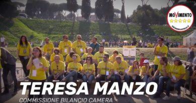 Teresa Manzo Pensione di Cittadinanza Italia 5 Stelle