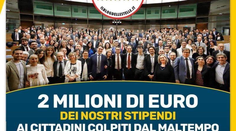 2 milioni di euro dei nostri stipendi