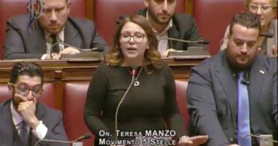 Teresa Manzo Intervento Fiducia Manovra