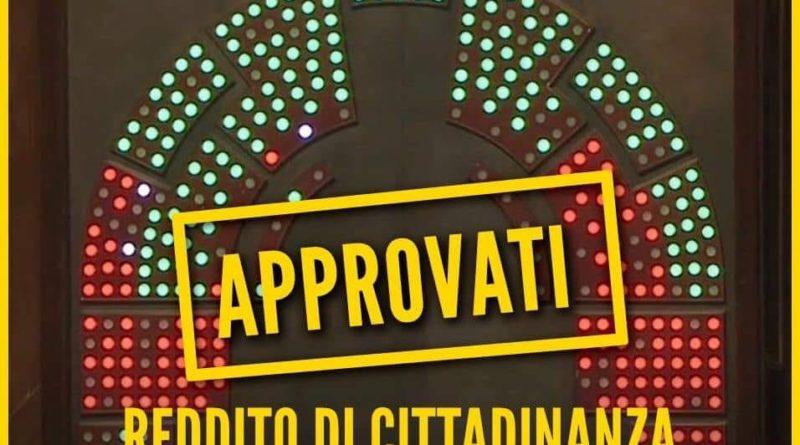Reddito Cittadinanza Quota 100 Approvati