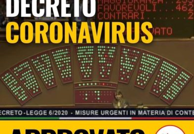 Decreto Coronavirus approvato