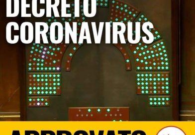 Decreto Coronavirus approvato al Senato