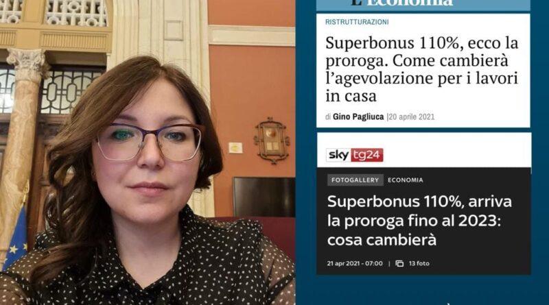 Superbonus 110% prorogato al 2023: già visibili i primi risultati