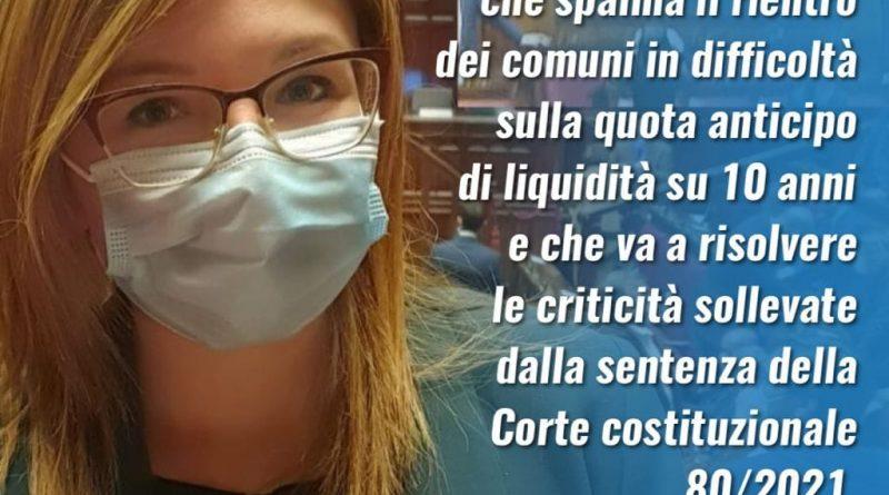 Emendamento approvato: stanziati altri 160 milioni per salvare i comuni italiani a rischio deficit