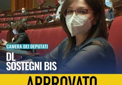 La Camera dei Deputati ha approvato la conversione in legge del Decreto Sostegni Bis