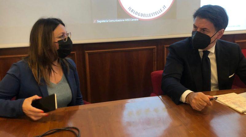 Incontro con il Presidente Giuseppe Conte per un confronto sul futuro del Paese